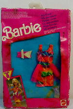 MATTEL VTG 1991 MY FIRST BARBIE FASHIONS TIE DYE DRESS # 4271 Asst 9276 EUROPEAN