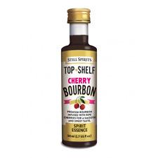 Still Spirits Top Shelf Alcohol Spirit Flavour Makes 3 Bottles CHERRY BOURBON