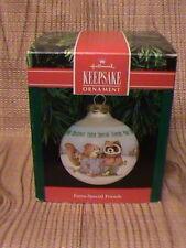 1991 Hallmark Extra-Special Friends Christmas Ornament