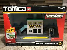 Tomy Tomica Hypercity 70580 All Aboard Train Station Playset - NEW