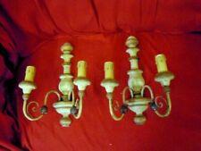 Appliques legno a lampade lampadari e applique dantiquariato