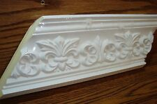 French Salon Crown Molding Inside/Outside Corner 2 Piece White Paintable * New