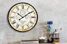 Walplus Vintage Rusty looked Metal Wall Clock 60cm Hallway Room Home Decorations
