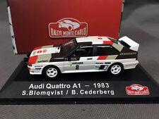 Atlas, Rallye Monte-Carlo, 1/43, Audi Quattro A1 1983 S.Blomqvist / B.Cederberg