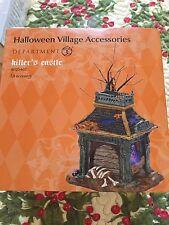 Dept 56 Snow Village Halloween  KILLER'S CASTLE  -  RETIRED 2013