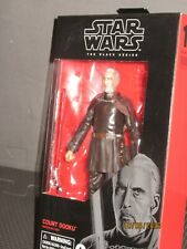 Star Wars The Black Series Count Dooku  Darth Lee Action Figure Hasbro NRFP