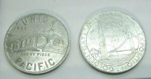 Union Pacific Lucky Piece 1934, Golden Gate International Exposition 1939 Tokens
