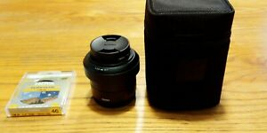 Sigma 60 2.8 for Sony E in excellent condition + Hoya UV filter and polarizer