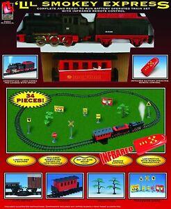 Life-Like Trains Battery Operated Lil' Smokey Express Train Set Remote Control