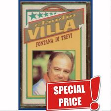 "CLAUDIO VILLA "" FONTANA DI TREVI"" MUSICASSETTA SIGILLATA (MC K7) EDIZ. ORIGINALI"