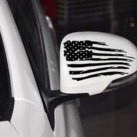1pc American Flag Styling Auto Car Bumper Window PET Decal Car Stiker Decoration