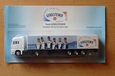 Modell LKW Bier Truck Bierlaster MAN Gerolsteiner Tour De France 2003 1HS 15