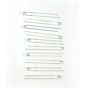 Digitax T1W 10-Pack of Warm White T1 LEDs