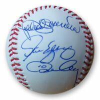 Ron Cey Pedro Guerrero Yeager Signed Autographed Baseball Dodgers 1981 WS MVPs