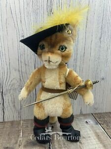Steiff `Puss in Boots` Limited Edition Mohair
