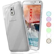 Silicone Case For Samsung Galaxy Note 3 Protective Transparent Thin Back Cover