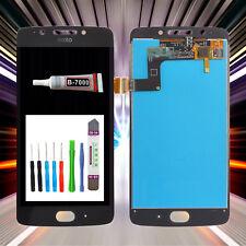 Display originale per Motorola Moto g5 xt1670 xt1671 LCD TOUCH SCREEN NERO