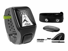 TomTom Multi-sport GPS Watch With HRM Cadence/speed Sensors and Altimeter