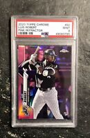 2020 Topps Chrome Pink Refractor #60 Luis Robert White Sox RC Rookie PSA 9 MINT