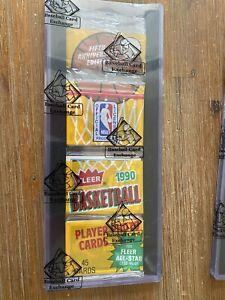 1990 Fleer Basketball Rack Pack Jordan All-Star on Back! Mint! BBCX Certified!