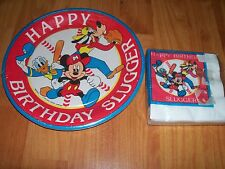 2pc Lot Beach Mickey Mouse Slugger Birthday Party Goods Multi-color