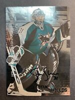 1999-00 ITG In The Game Signature Series Auto #213 Steve Shields San Jose Sharks