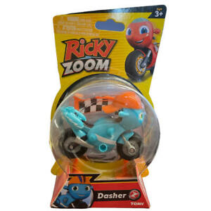 Dasher Toy Motorcycle from Ricky Zoom 3 inch Action Figure T20078