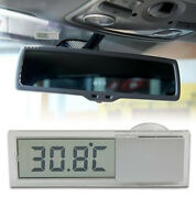 Streetwize SWC3 Inside Car Van Temperature Thermometer With Suction Mounts