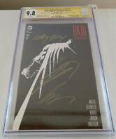 Dark Knight III #1 CGC SS 9.8 4x Sigs- Frank Miller, Azzarello, Kubert, Anderson