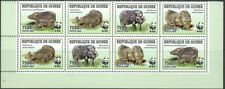 GUINEA - WWF 2009 'GIANT FOREST HOG' Block of 8 MNH [A9219]