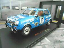 RENAULT 5 Alpine Rallye Bandama Ivoire 1978 #5 Frequelin Gitanes IXO NEU 1:18