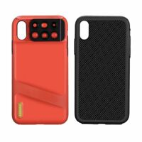 MOMAX Fisheye Telephoto Macro Camera Filter Lens Case Cover for iPhone XS Max
