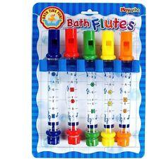 bain Flûtes - Amusant étanche instrument de musique coloré Pack 5 pour enfants