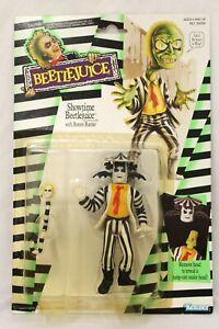 Beetlejuice Showtime Beetlejuice w/ Rotten Rattler 1989 Kenner Action Figure 2