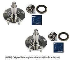Front Wheel Hub & KOYO Bearing & Seal Kit for LEXUS SC300 SC400 1992-2000 PAIR