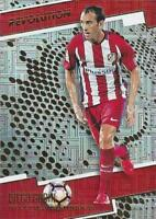 2017 Panini Revolution Soccer - Infinite Parallel - Atletico de Madrid - 119-128