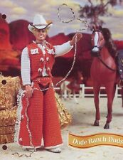 Dude Ranch Duds for Barbie's Ken Doll Cowboy Crochet Pattern - 30 Days To Pay!