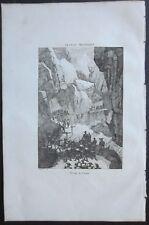 1838 PASSAGE DU SIMPLON Simplonpass Canton Valais Kanton Wallis Suisse