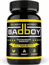 Bad Boy Testosterone Booster for Men Boost Fat Loss, Natural Energy & Strength