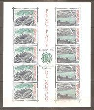 TIMBRE MONACO 1987 EUROPA BLOC N°37 NEUF** MNH COTE 31 EUROS