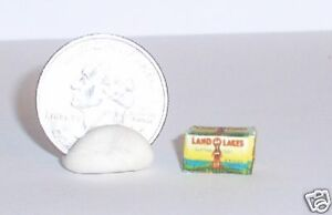 Dollhouse Miniature FOOD Butter Box 1:12 one inch scale Dollys Gallery E58