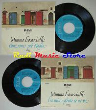 LP 45 7'' MIMMO LOCASCIULLI Canzone per nadia La mia gente 1978 italy cd mc dvd