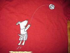 Boutique Mulberribush Cute Volleyball Doggie Pocket Tee - Boy's 12 Months - NWT