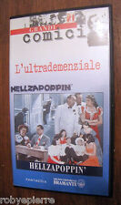 Videocassetta VHS Hellzapoppin' L'ultrademenziale H C Potter BRAMANTE 1995 rara