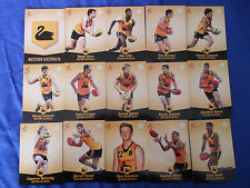 2013 SELECT FUTURE FORCE CARDS U/18 CHAMPIONSHIPS WESTERN AUSTRALIA SET (15)