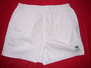 SHORT Tennis VINTAGE années 1990 Major neuf taille 46 coloris blanc