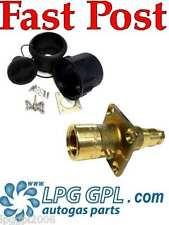LPG GPL UK straight 8mm 0deg filler set Complete for propane autogas glp campin