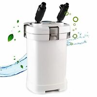 Turtle Terrarium Canister Filter Low Water Level External Aquarium Fish Tank