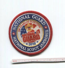2010 National Scout Jamboree - National Guard STAFF Patch