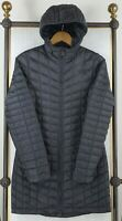 THE NORTH FACE Size XS Womens Hooded Thermoball Black Quilted Parka Jacket Coat